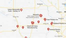 Iowa PTFE Products & Machine Manufacturers / Suppliers