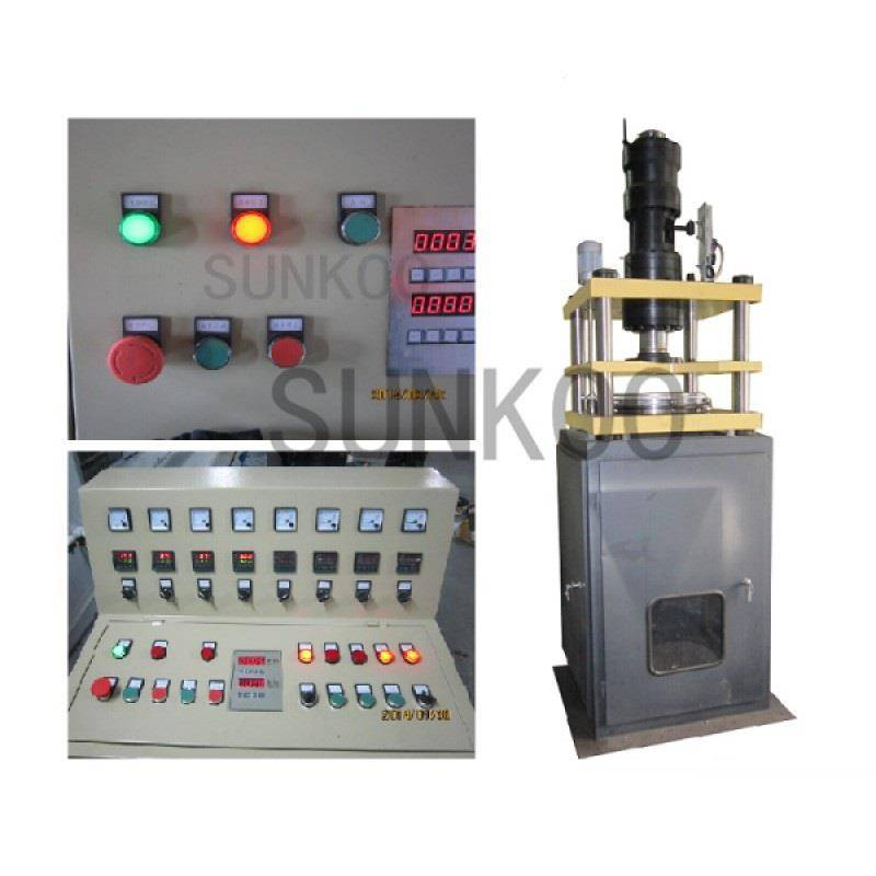 Polymer Vertical Type Tube Ram Extruder Machine PFG600 for Polymer PTFE Tube Dia 300mm-600mm