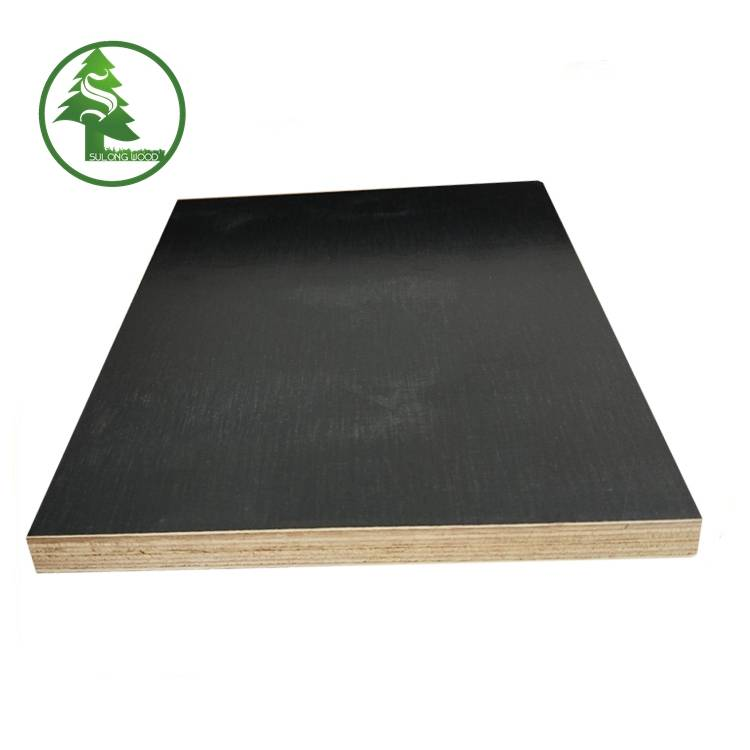Film faced plywood Eucalyptus black