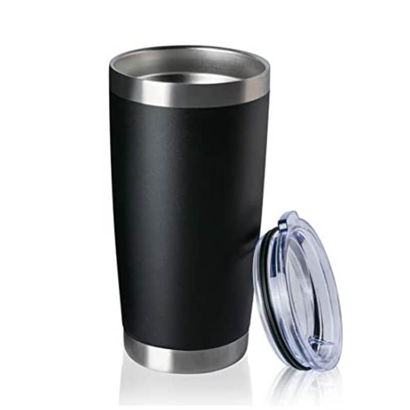 16oz vacuum insulated stainless steel double wall custom travel tumbler Featured Image
