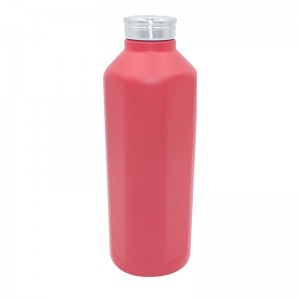 High capacity single wall 304 Stainless steel flask custom color water bottle