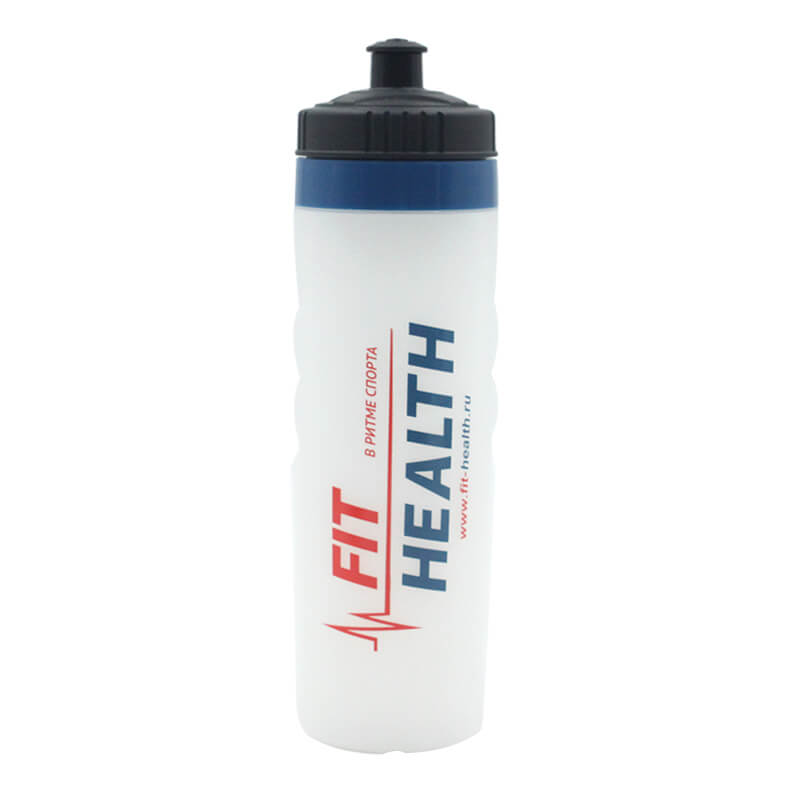 Sports and Fitness Squeeze Pull Top Leak Proof Drink Spout Water Bottles BPA Free customized logo Featured Image