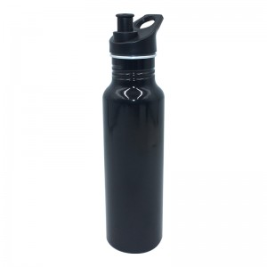 600ml Aluminum water bottle with Pull Top Leak Proof Drink Spout