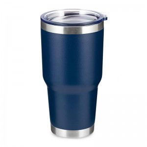 30oz vacuum insulated double wall stainless steel tumbler like yeti mug