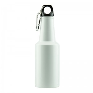 glass beer bottle shaped Aluminum sport water bottle