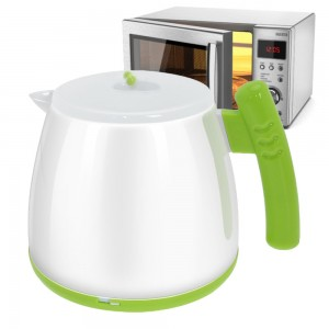 Microwave Oven Use Tea Kettle Water Boiler Hot Pot 0%BPA