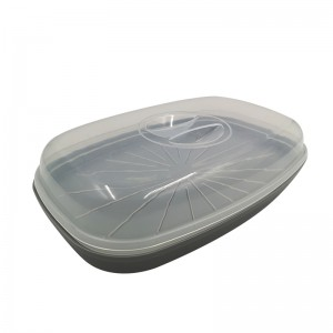 Microwave Steamer Cookware for Fish 0%BPA