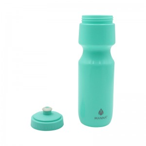 Reusable No BPA Plastic Sports and Fitness Squeeze Pull Top Leak Proof Drink Spout Water Bottles manufacturer