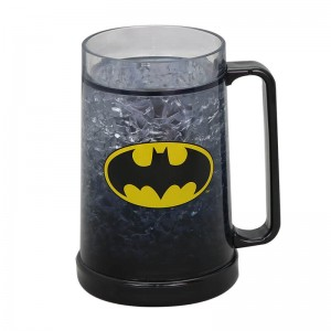 450ml plastic double wall ice mug with custom logo