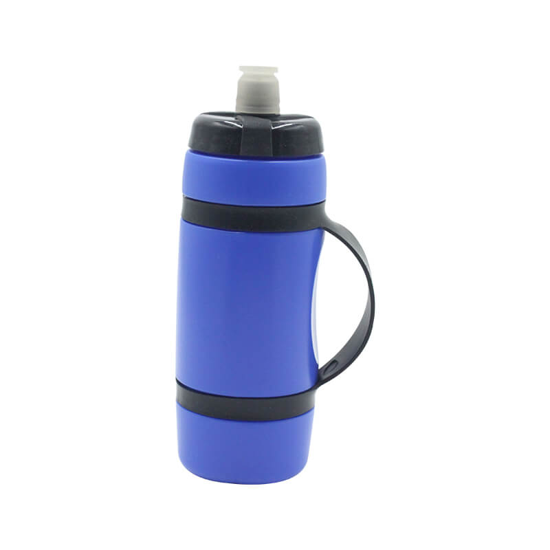 Reusable No BPA Plastic Sports and Fitness Squeeze Pull Top Leak Proof Drink Spout Water Bottles BPA Free customized logo and color Featured Image