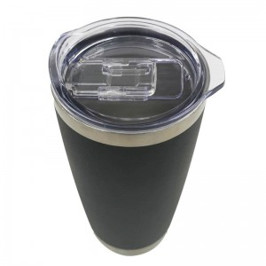 16oz vacuum insulated stainless steel double wall custom travel tumbler