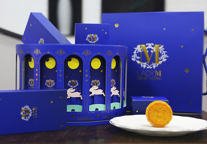 Lady M Mooncake Box