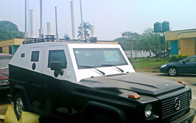 Vehicle RF Jamming System