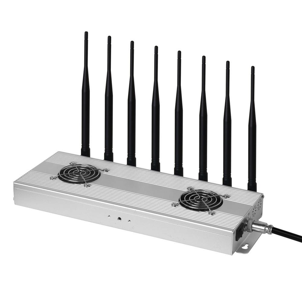 8 bands WiFi Cell phone Jammer