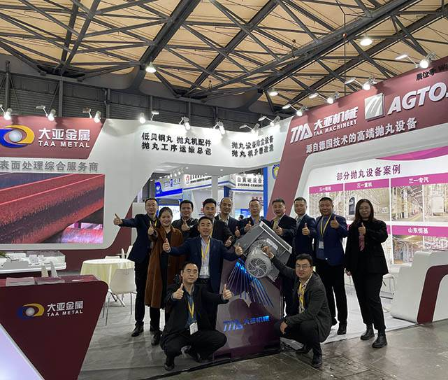 Go steady and far, to win the future/ TAA attended Bauma china on 24th November.