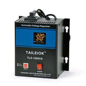 TLS Wall Mounted Type Relay Automatic Voltage Stabilizer (LED Meter)