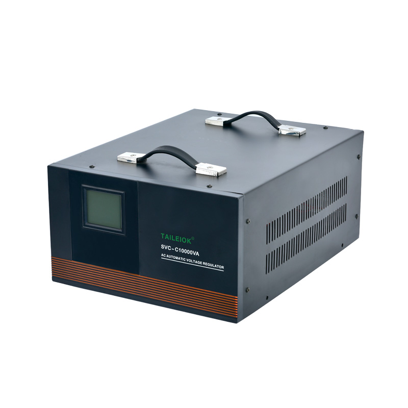 SVC-C Automatic Voltage Stabilizer LED meter display Featured Image