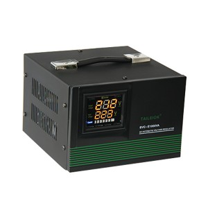 SVC-E Automatic Voltage Stabilizer LED meter display