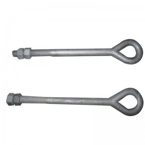 9-shaped anchor bolt