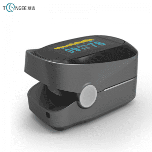 Finger clamp finger pulse oximeter