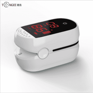 Tongee ready stock portable fingertip pulse oximeter