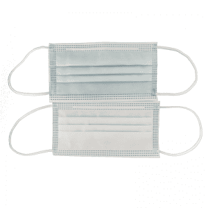3 Ply Face Mask Non-woven Disposable Protective Face Mask