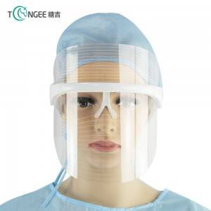 Tongee profession manufacturing women's rechargeable LED phototherapy mask face mask face shiled
