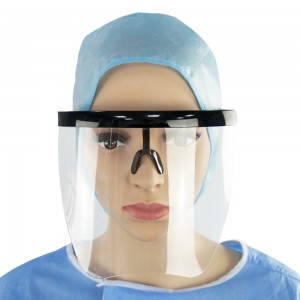 Tongee Clear Anti Fog Plastic Face Shield Disposable Transparent Safety Face Shield Protective Face Glass Shield