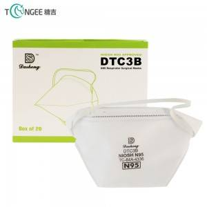 High quality manufacturer disposable KN95 mask with loop