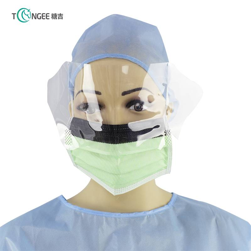 Tongee new products safety face shield visors protective eye face shield with mask Featured Image