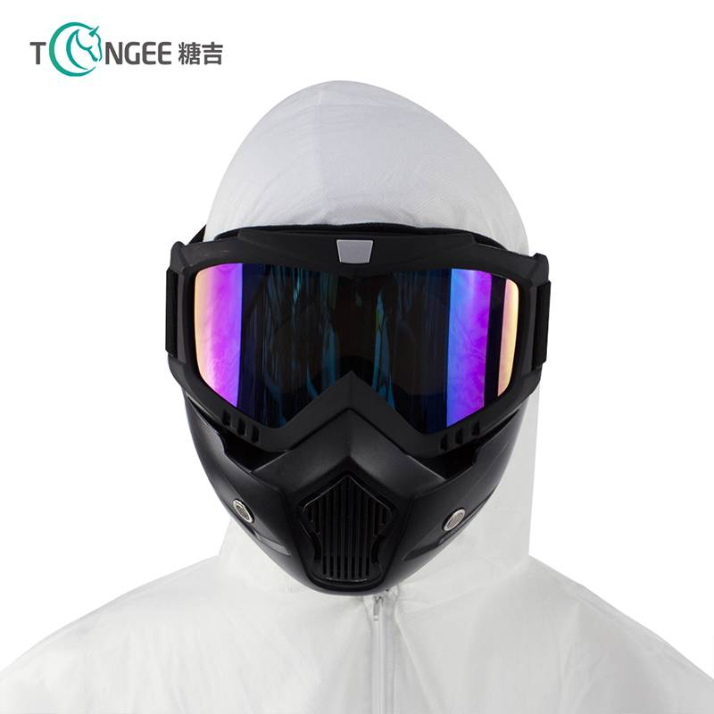 Fashion goggle mask motorcycle, goggle mask for outdoor, hotsale google mask detachable Featured Image