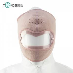 Tongee Fleece riding windproof high – resolution goggles anti – fog face mask