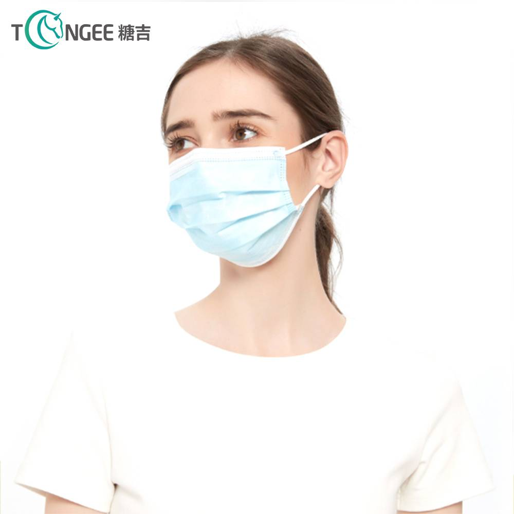 3 Ply Face Mask Non-woven Disposable Protective...