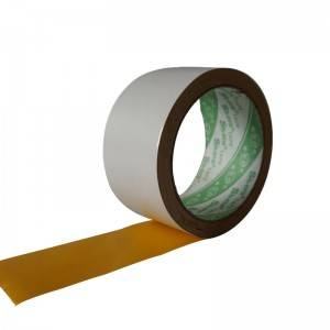 Yellow Embroidered Double Sided Tape