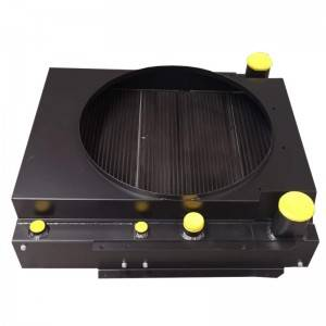 Aluminum Brazing Bar Plate-Fin Heat Exchanger for construction machinery