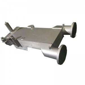 Full Aluminum Brazing Bar Plate-Fin Heat Exchanger