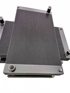 Customized Aluminum Bar plate fin Intercooler
