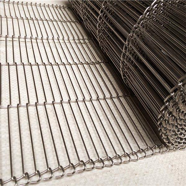 Z shaped stainless steel flat flex wire mesh conveyor belt Featured Image