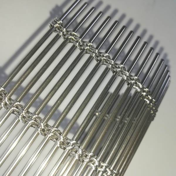 Stainless steel cable rod woven mesh Featured Image