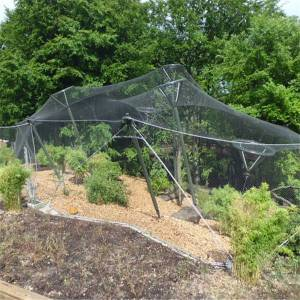 Flexible stainless steel bird aviary mesh