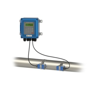 Rustless Case Wall Mounted Ultrasonic Flow Meter TUF-2000B