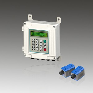 Aluminum Case Wall Mounted Ultrasonic Flow Meter TUF-2000S
