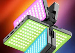 Teyeleec TC316A-RGB New Style Fold-able RGB LED Light Get Released!