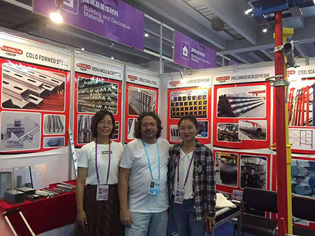 Tianjin Rainbow Steel Group Participated in the 126th Canton Fair