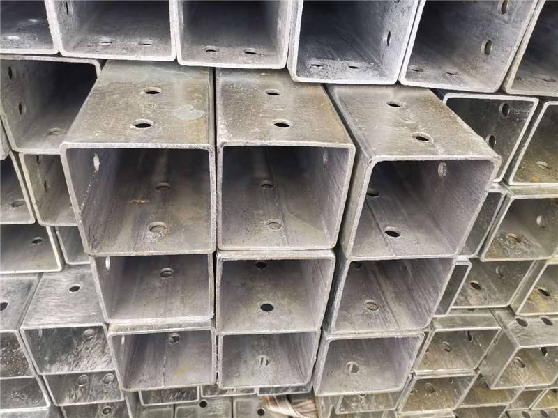 Ms Hollow Section Steel Tube ERW Black Annealed Steel Square Pipe