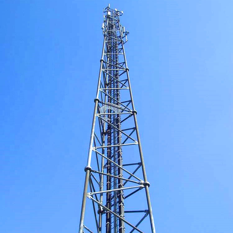Factory source China Self Supporting Galvanized Q345 Angle Steel Communication Tower