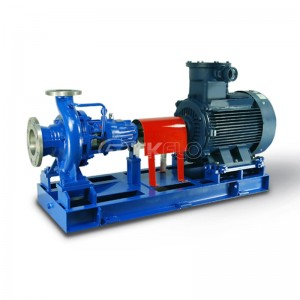 CZ Horizontal Single Stage End Suction Centrifugal ISO Chemical Pumps