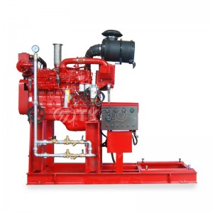 Diesel Engine Long Shaft Vertical Turbine Fire Pump