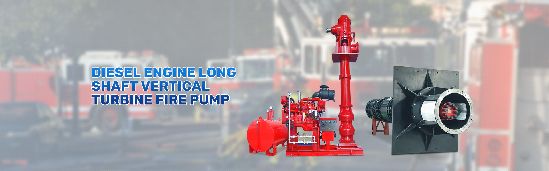 Long shaft vertical turbine sea water industry city flood control drainage pump