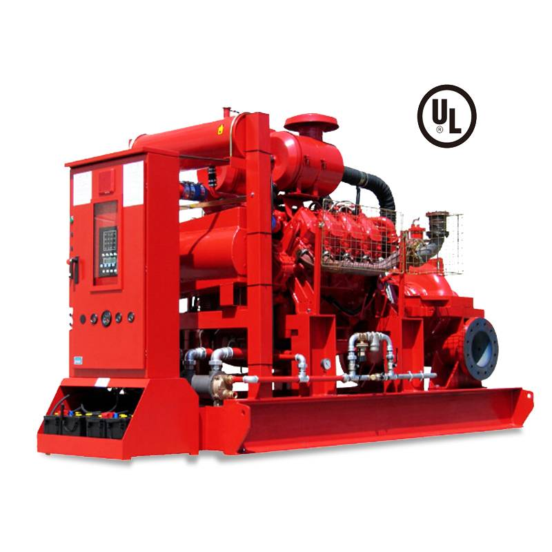 Split casing double suction type NFPA UL FM fire pump Featured Image